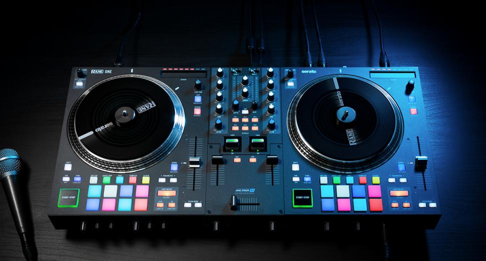 RANE宣布释出带有电动黑胶转盘的新控制器
