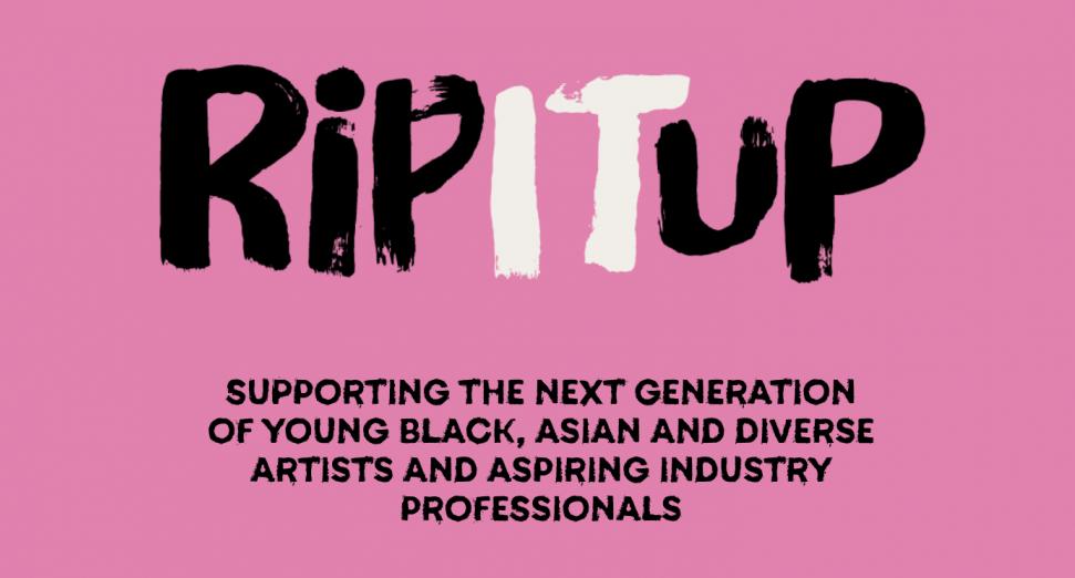 全新音乐产业奖学金项目RIP IT UP为非裔、亚裔和多元化艺术家推出