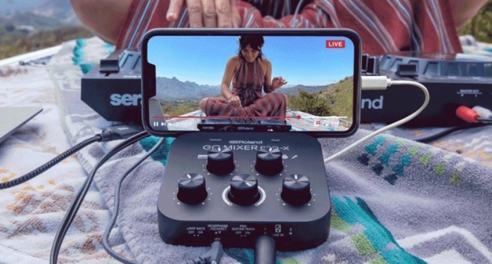 ROLAND推出新的便携式混音器可让手机进行流媒体直播