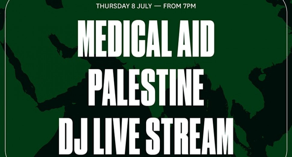 REPRESENTASIAN广播和SHADO MAG 将共同主办DJ直播演出为巴勒斯坦人民筹集医疗援助