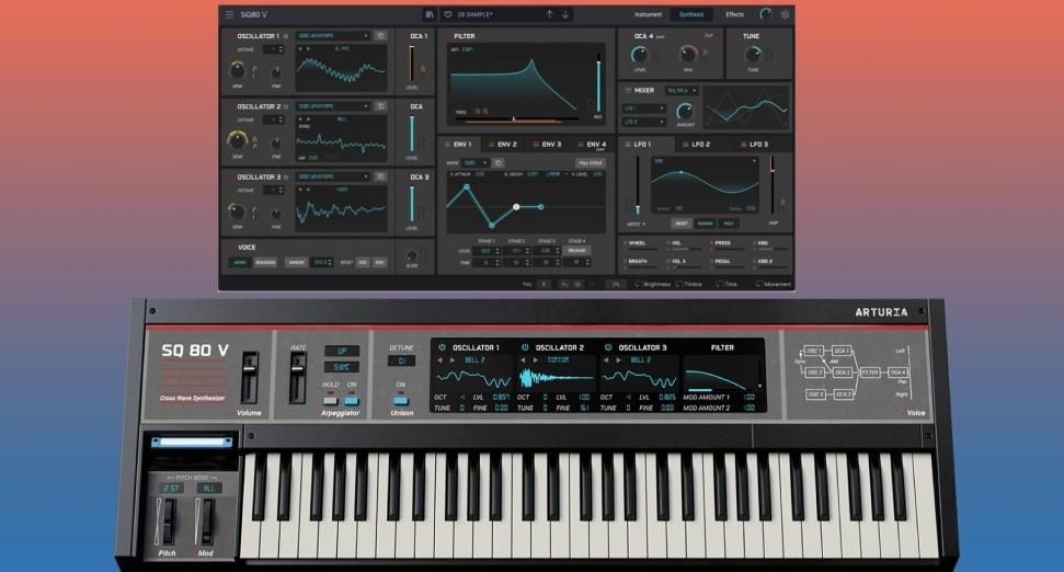 ARTURIA 宣布推出 ENSONIQ SQ80